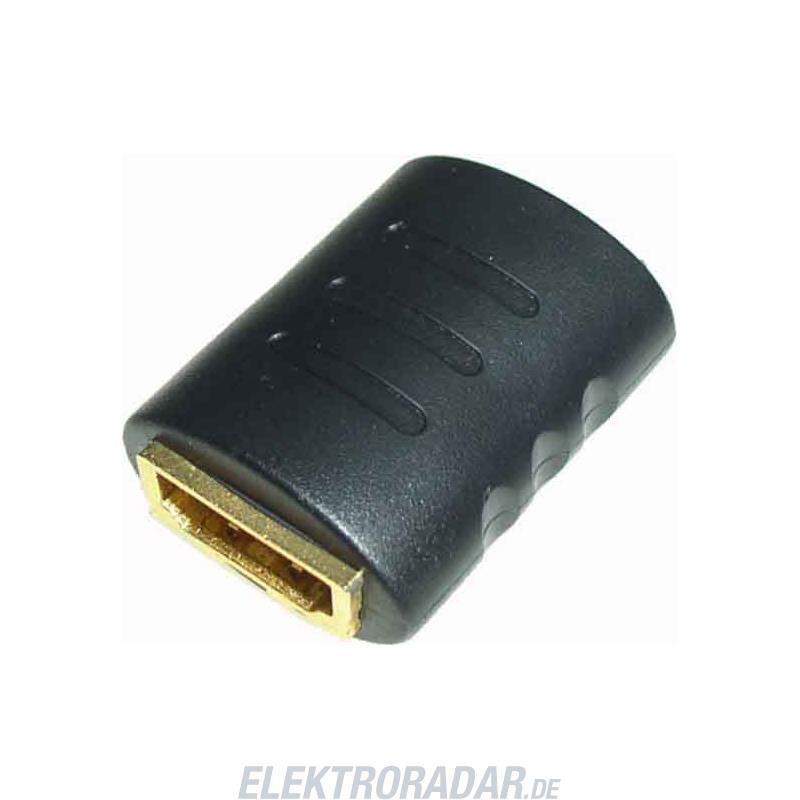 E+P Elektrik HDMI Doppelkupplung HDMI 19