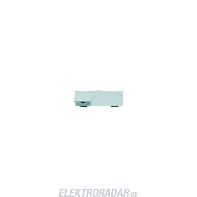 jung schuko steckdose 3 fach 623 w. Black Bedroom Furniture Sets. Home Design Ideas