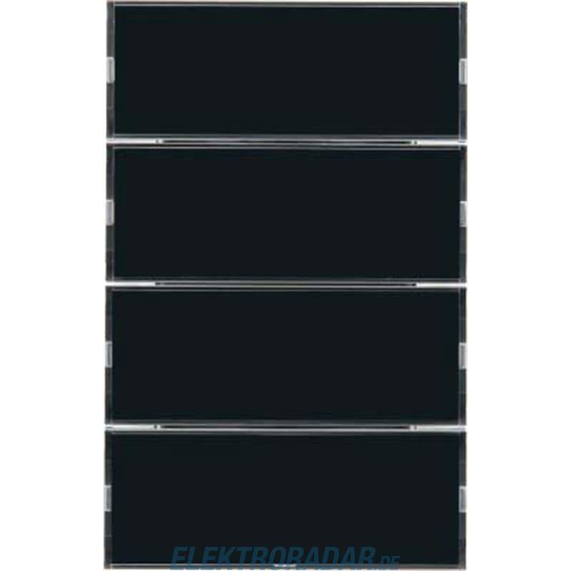 berker tastsensor 4fach mit besch 75164375. Black Bedroom Furniture Sets. Home Design Ideas
