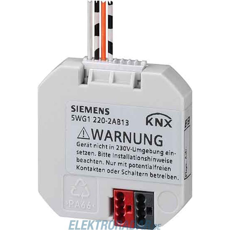 Siemens tasterschnittstelle 5wg1220 2ab21 for Siemens einbauger te