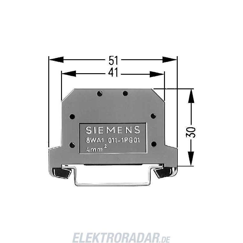 Siemens Siemens PE-Klemme 8WA1011-1PG00 8WA10111PG00