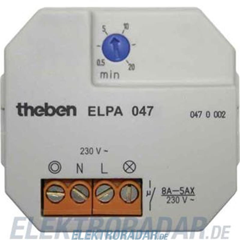Theben Treppenlichtautomat ELPA 047 UP 0470002