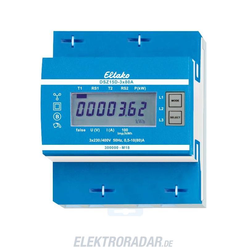 Eltako Drehstromzähler DSZ15D-3x80A MID 28380015