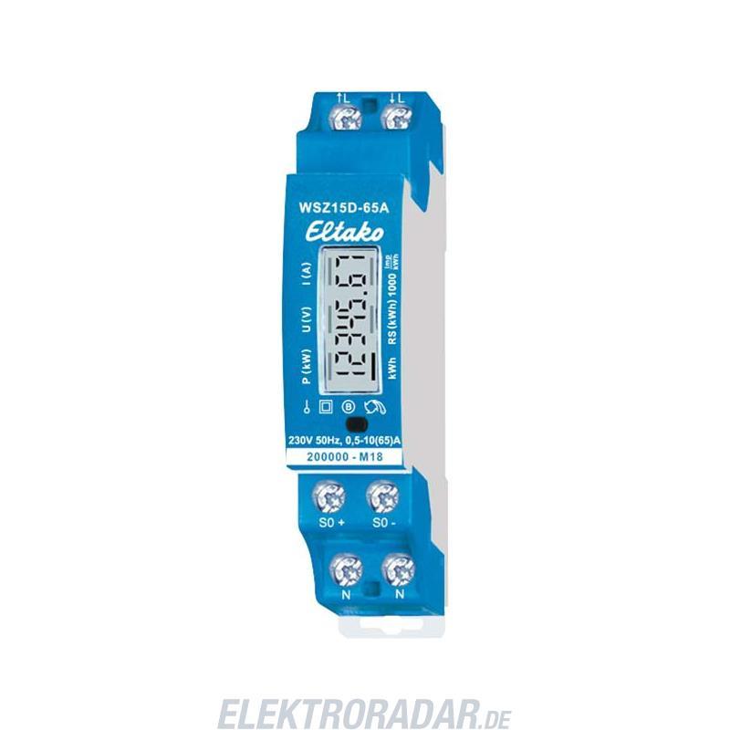 Eltako Wechselstromzähler WSZ15D-65A MID