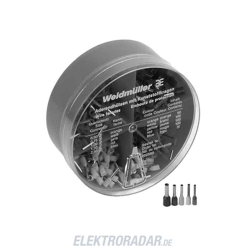 Weidmüller Aderendhülsenbox H-BOX 0,5-2,5QMM 9025900000