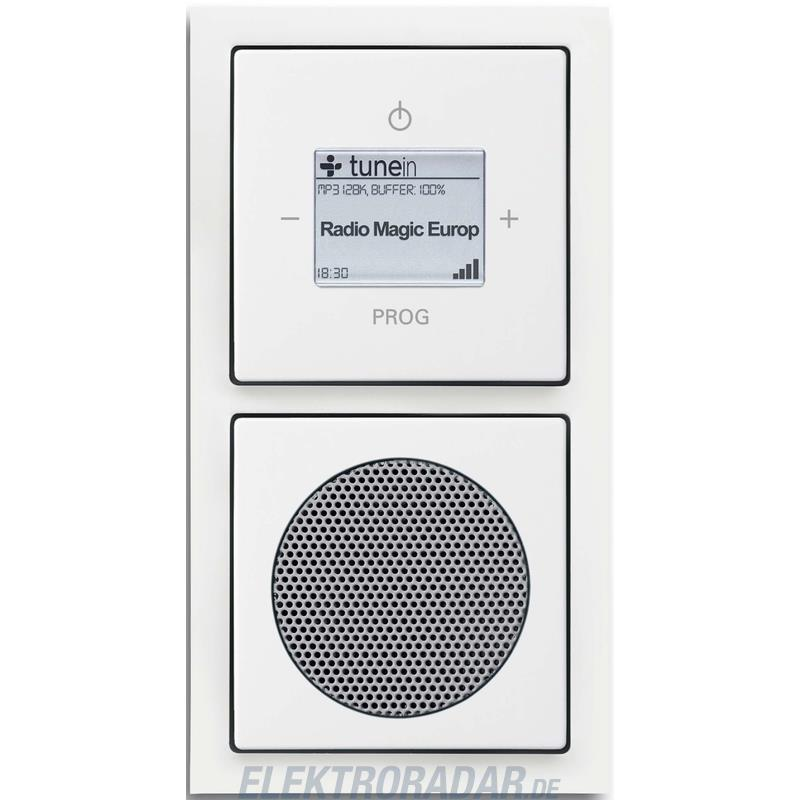 busch jaeger wlan radio komplettset 8240 84. Black Bedroom Furniture Sets. Home Design Ideas