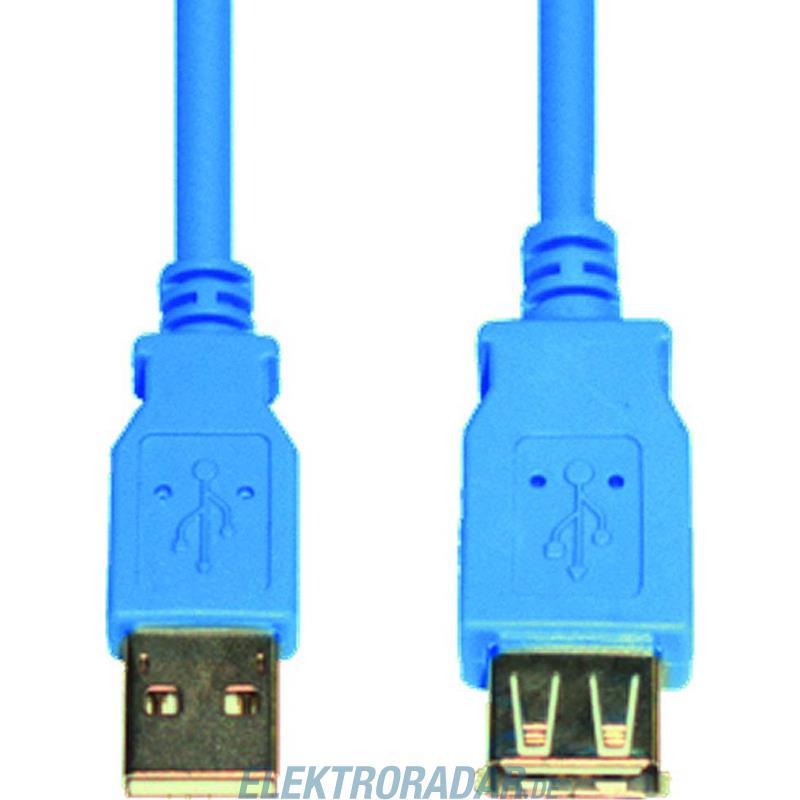 E+P Elektrik USB3.0-Verlängerung AA CC 318
