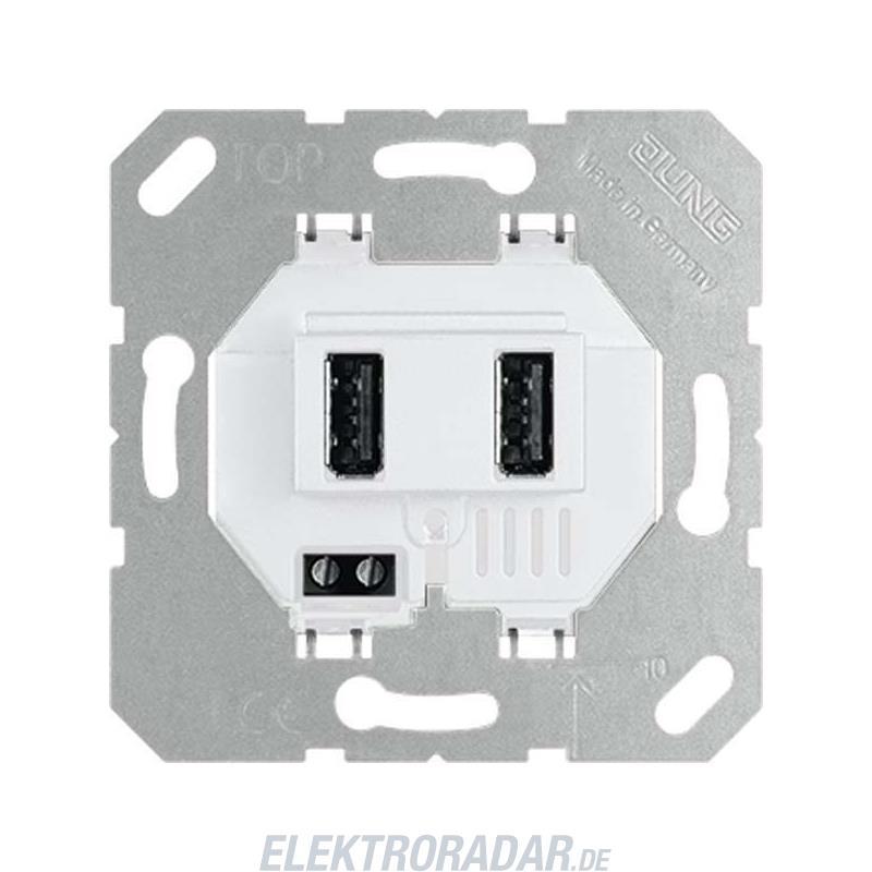 Jung USB-Ladesteckdose USB 3-2 WW USB3-2WW