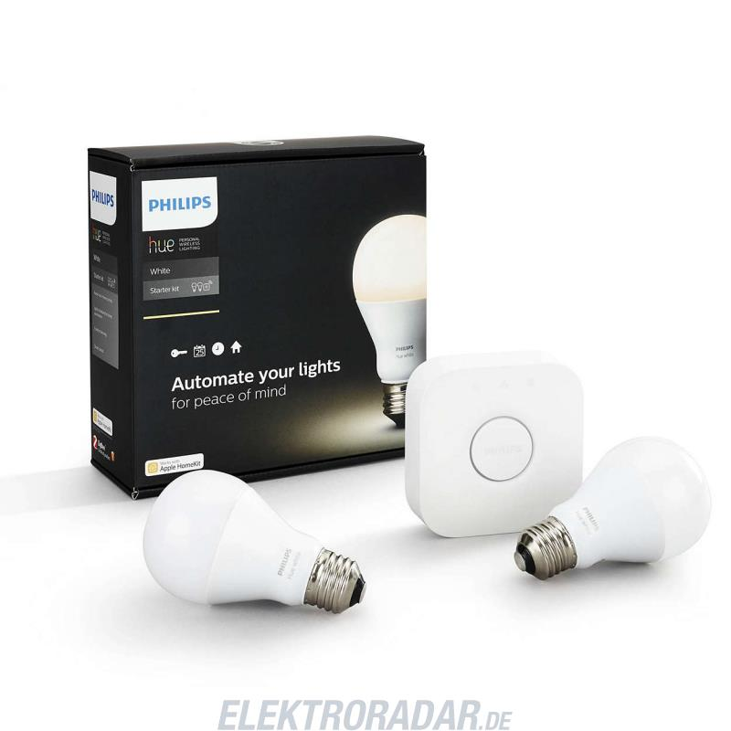 philips hue led lampe e27 starter set wei. Black Bedroom Furniture Sets. Home Design Ideas