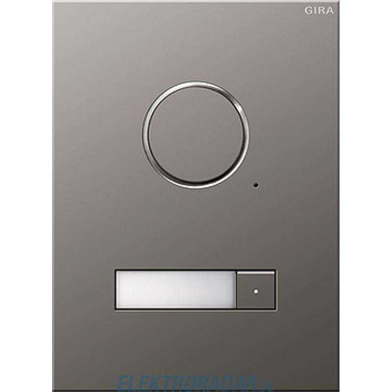 gira t rstation audio 1fach eds 250120. Black Bedroom Furniture Sets. Home Design Ideas