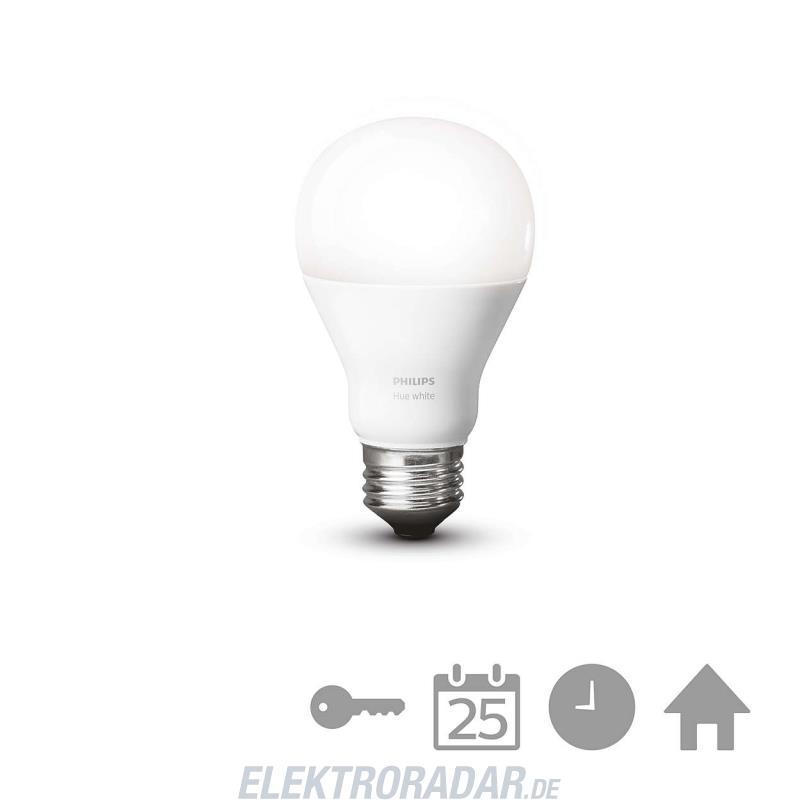 Philips Hue LED Lampe E27 DIM 9,5W (60W) warmweiß