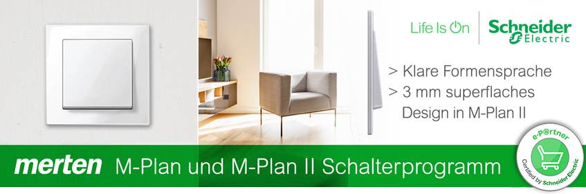 Banner Merten M-Plan | Elektroradar.de
