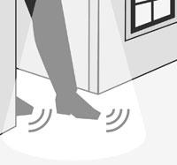 Merten Argus Bewegungsmelder Rückraumüberwachung