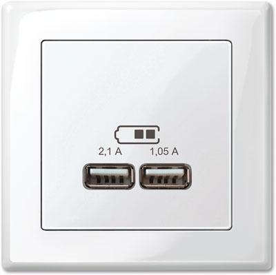 Merten M-Smart Set: USB-Spannungsversorgung