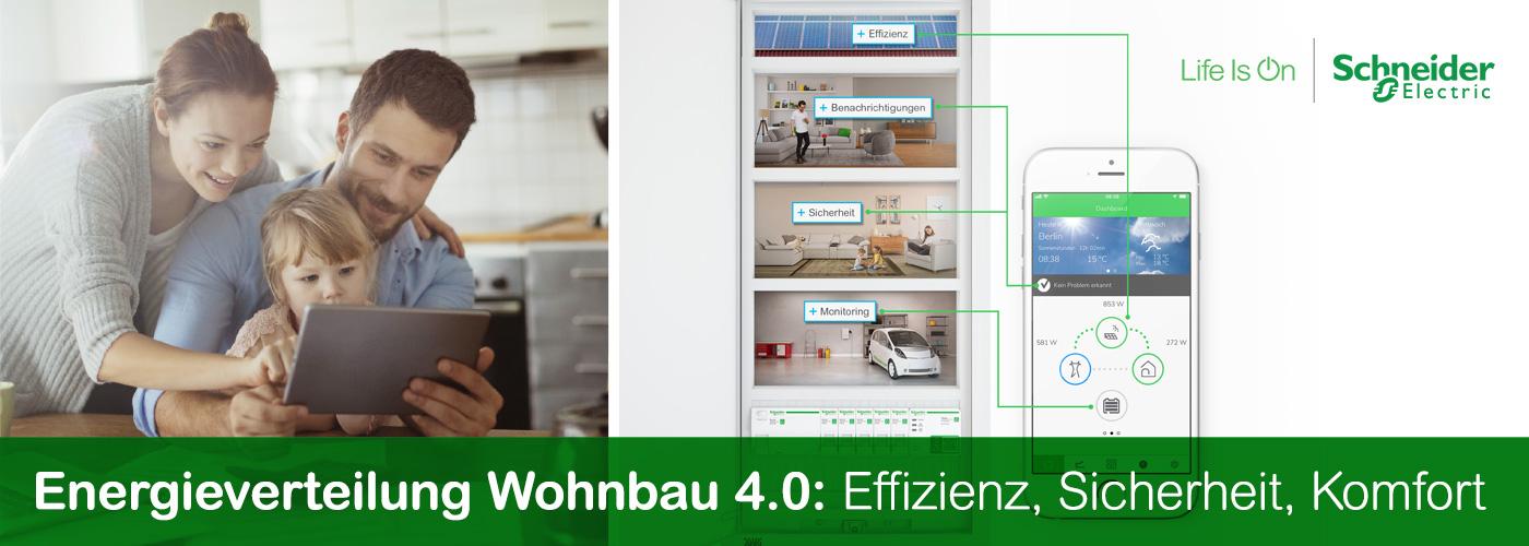 Schneider Electric Energiemanagement mit Wiser im Smart Home