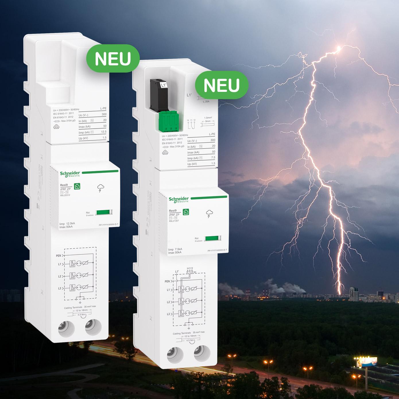 Resi9 Kombiableiter von Schneider Electric