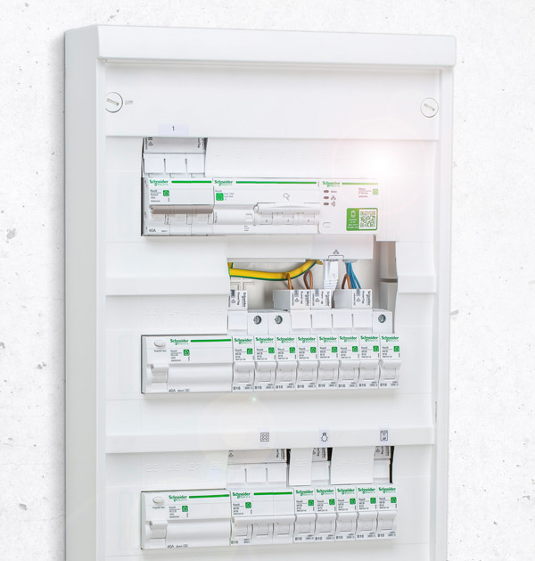 Resi9 Reiheneinbaugeräte von Schneider Electric