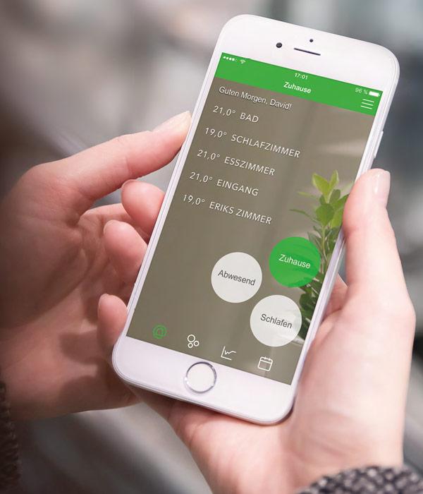 Wiser™ App für Android und iOS